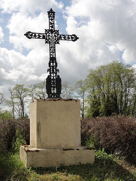Wissignicourt (Aisne) croix de chemin
