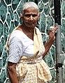 Woman outside Post Office - Bandarawela - Hill Country - Sri Lanka (14098047866).jpg