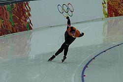 Women's 3000m, 2014 Winter Olympics, Antoinette de Jong.jpg