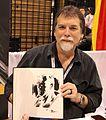 WonderCon 2015 - Steve Epting and Captain America drawing (17048155612).jpg