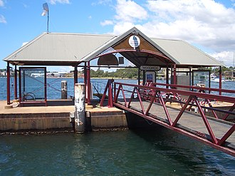 Woolwich, New South Wales - Image: Woolwich Ferry Wharf