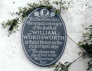 Wordsworth Plaque