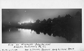 Wrangell, Alaska. Fire at Alaska Sanitary Packing Co. 26 July, 1924. - NARA - 298762.jpg