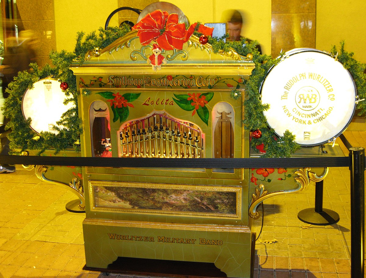List Of Wurlitzer Band Organs Wikipedia