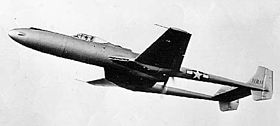 Il Vultee XP-54 in volo