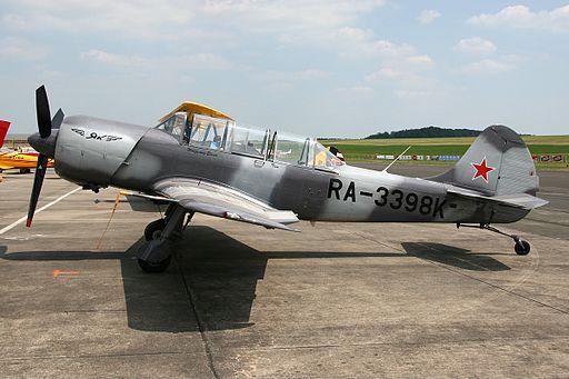 Yakovlev Yak-52TW Private RA-3398K, BBJ Bitburg (Bitburg Air Base), Germany PP1278607204