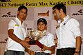 Yash Aradhya at JK Tyre MMS Rotax Max National Kart Open 2013.jpg