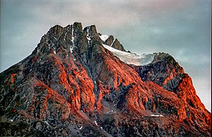 Ymer Island - Mountaintops in Ymer Island