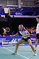 Yonex IFB 2013 - Quarterfinal - Tontowi Ahmad - Liliyana Natsir vs Chris Adcock - Gabrielle White 03.jpg