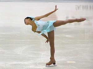 Glossary of figure skating terms - A camel position