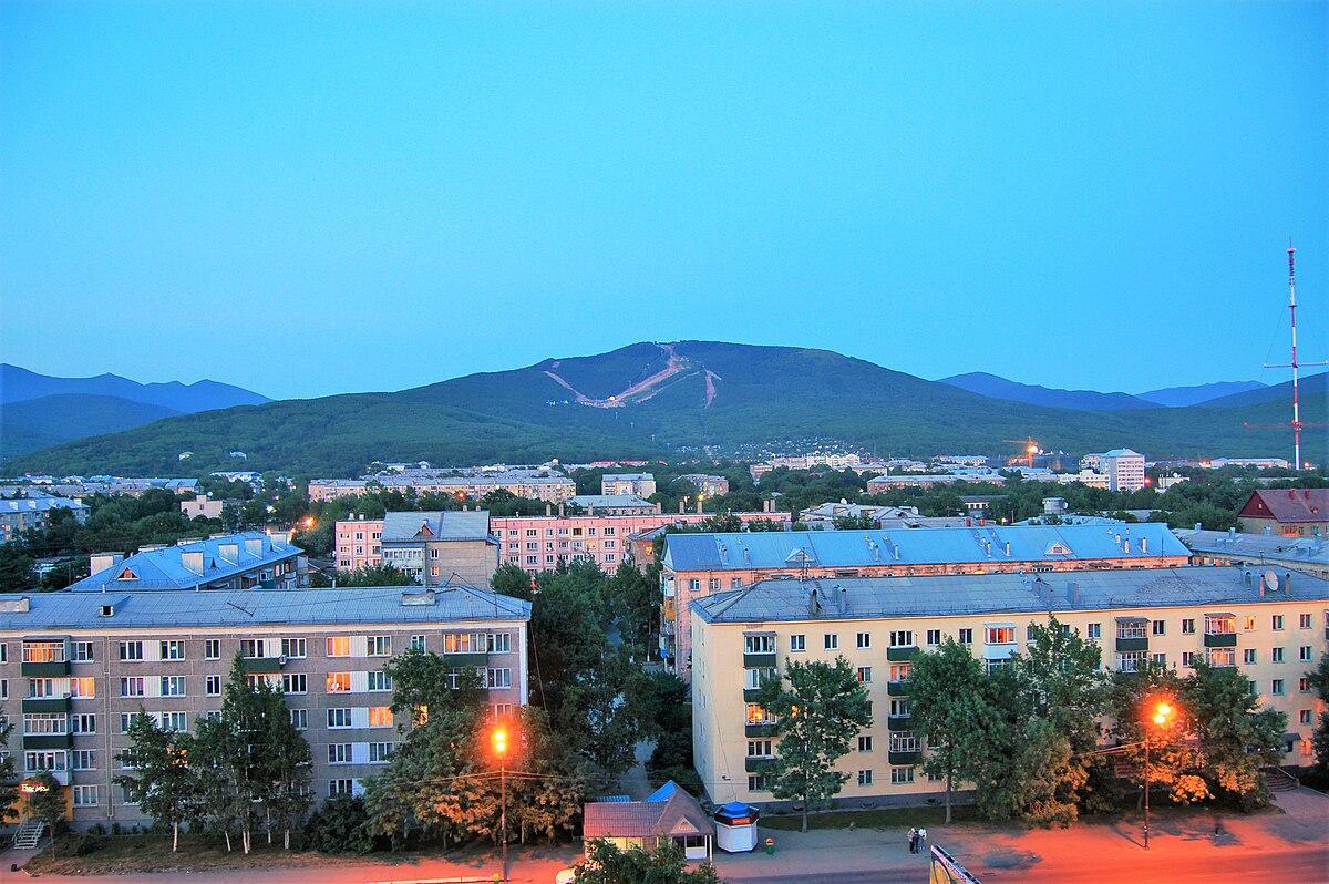 Wikipedia: Yuzhno-Sakhalinsk