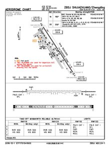 CAAC airport chart