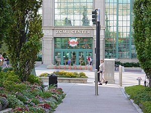 Downtown Salt Lake City - North entrance of the now-demolished ZCMI Center Mall