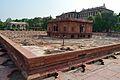 Zafar Mahal with Sawan Pavilion - North-east View - Hayat-Bakhsh-Bag - Red Fort - Delhi 2014-05-13 3360.JPG