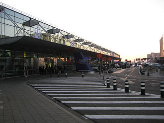Brussels Airport - Terminal exterior