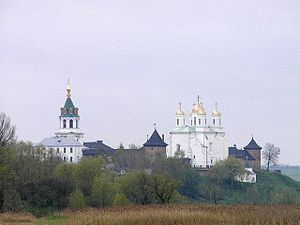 Zymne Monastery - General view of the monastery