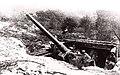 Zsákmányolt olasz messzehordó ágyú. Fortepan 75996.jpg
