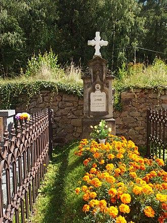 Josef Leopold Zvonař - Grave of Josef Leopold Zvonař