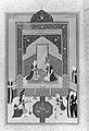 """Bahram Gur in the Dark Palace on Saturday"", Folio 207 from a Khamsa (Quintet) of Nizami MET 43910.jpg"