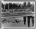 """Beacon Hill House,"" Arthur Curtiss James house, Newport, Rhode Island. Lily pond in the Blue Garden LCCN00651333.jpg"