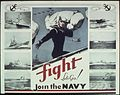 """Fight Lets Go - Join the Navy"" - NARA - 513512.jpg"
