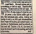 """To save trouble no Irish need apply"" The Evening Post, New York City, New York 8 September 1828,p.3.jpg"