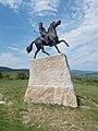 Árpád statue by Dávid Tóth, 2017 Pomáz.jpg