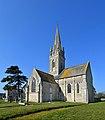 Église Saint-Vigor d'Asnières-en-Bessin. Vue sud-est.jpg