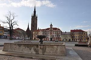 Čáslav - Image: Čáslav náměstí2012