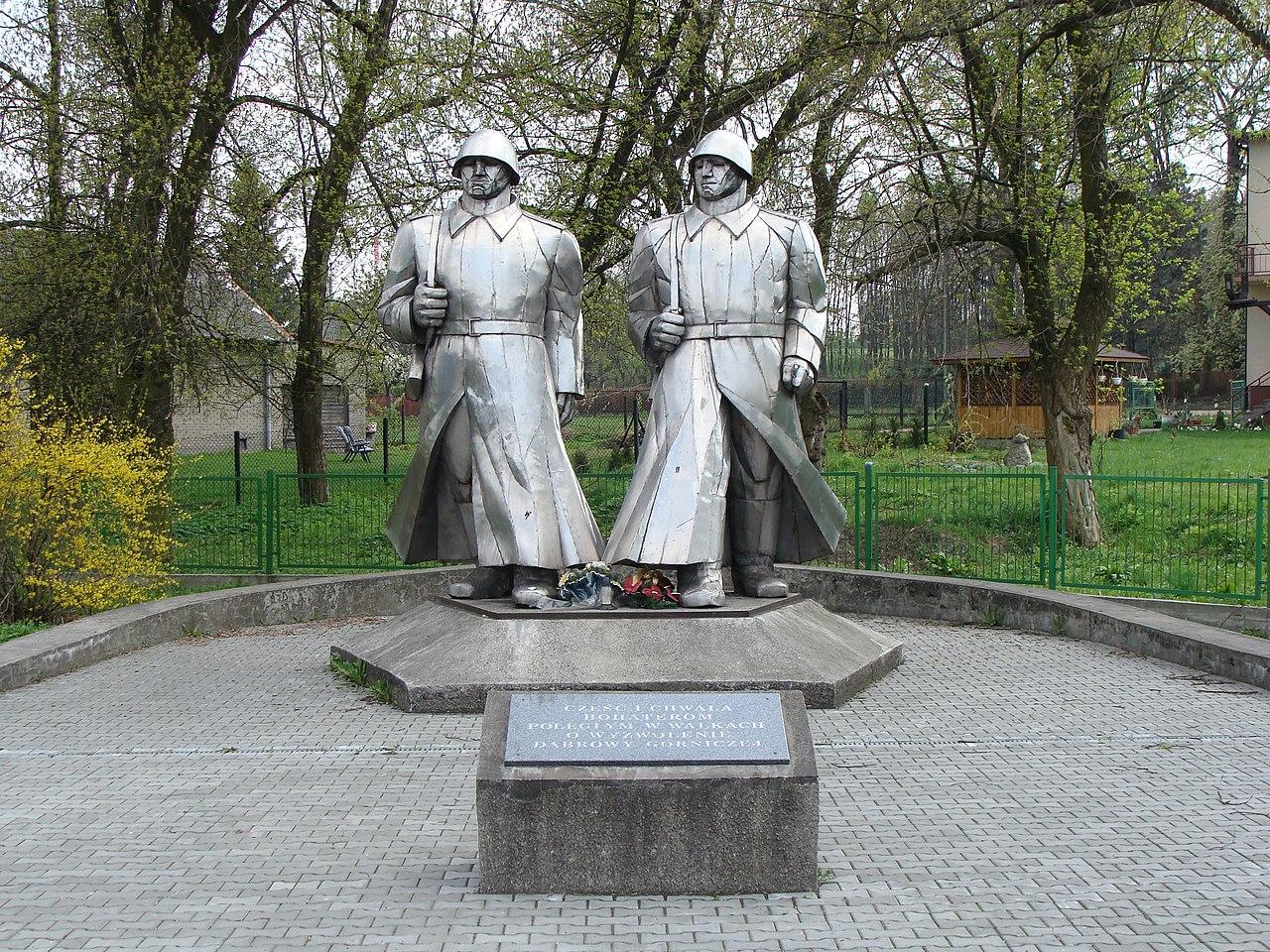 Pomnik Wdzięczności Armii Czerwonej w Dąbrowie Górniczej (Łosień)