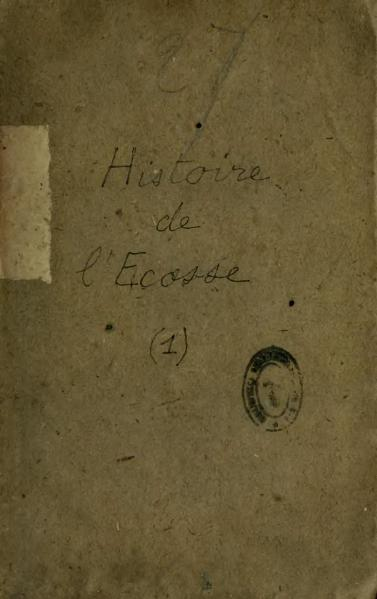 File:Œuvres de Walter Scott, Ménard, traduction Montémont, tome 27, 1838.djvu