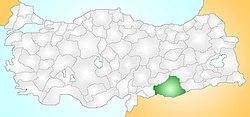 Şanlıurfa Turkey Provinces locator.jpg