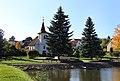 Švábov, common and chapel.jpg