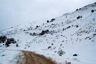 Panachaiko - Image: Χιονισμένο Παναχαϊκό (28 12 2008) panoramio