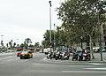 Барселона (Испания) Парковка скутеров - panoramio.jpg