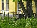 Дом ветеранов сцены. Могилы Савиной и Молчанова04.jpg
