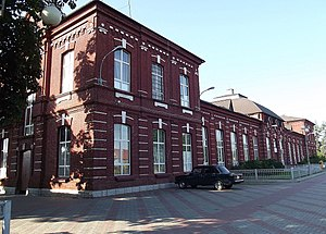 Beslan - Railway station in Beslan