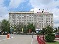 Здание городской мэрии в Элисте, Калмыкия.jpg