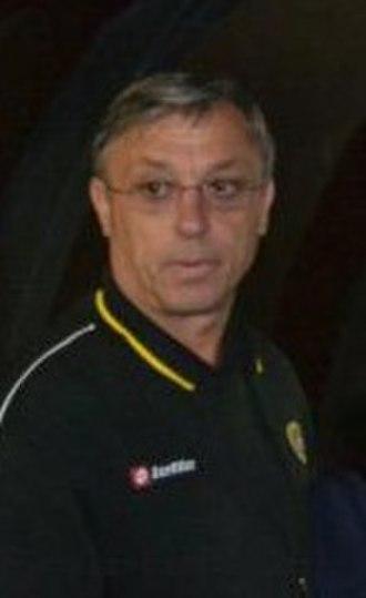 Zlatko Kranjčar - Kranjčar in a pre-season with Sepahan in Kish Island