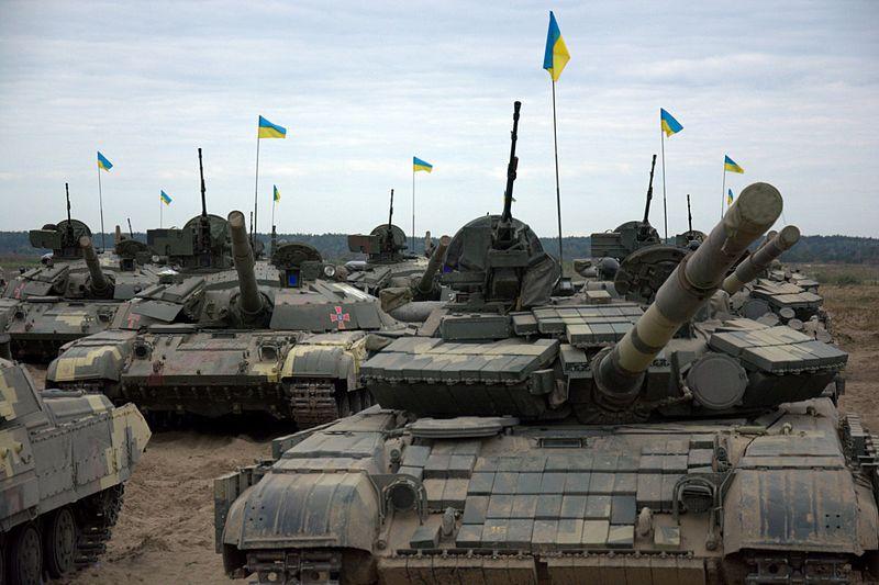 File:На Гончарівському полігоні відбувся етап тактичних навчань зведеної танкової роти з бойовою стрільбою (29006077403).jpg