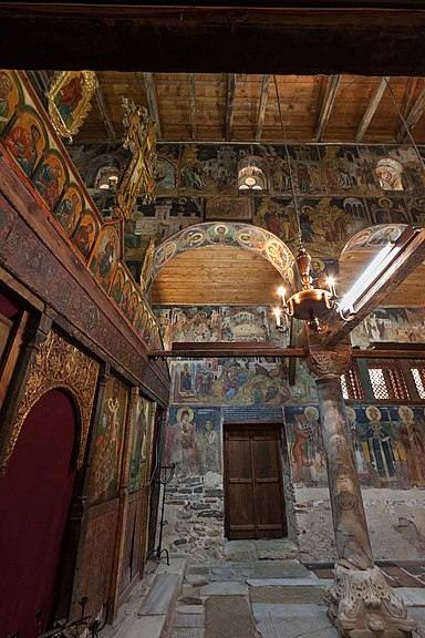 Несебыр Церковь Св Стефана Интерьер ЮгоВосточная часть