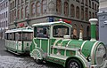 Рига (Латвия) Площадь Домского собора - экскурсионный поезд - panoramio.jpg