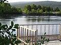 Сбросной канал КАЭС.Вид с УТП-2. - panoramio.jpg