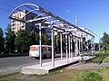 Соломбала. Строительство автобусной остановки - panoramio.jpg