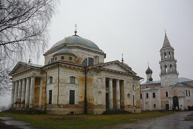 Собор Борисоглебского монастыря в Торжке (1785—1796)