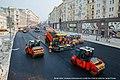 Укладка асфальта на Тверской улице в Москве (2016) · 1.jpg