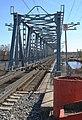 Царникава (Латвия) Железнодорожный мост через реку Гауя (вид с правого берега) - panoramio.jpg