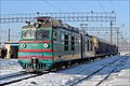 Электровоз ВЛ80К-600 (ТЧ-3 Казатин), с СМ2-1286 на станции Жмеринка, 14.01.2013. - panoramio.jpg