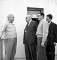ביקור נשיא ההסתדרות הציונית חיים וייצמן משמאל- אהרון ציזלינג ווייצמן btm14257.jpeg