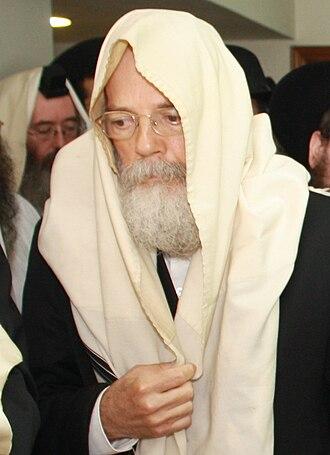 Shalom Dov Wolpo - Image: שלום דוב וולפא